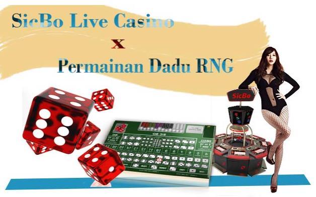 Perbedaan Live Casino SicBo dan Dadu RNG